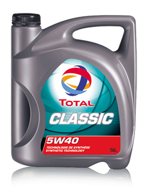 Моторное масло TOTAL CLASSIC 5W-40